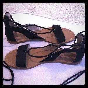 Madewell gladiator sandals size 9